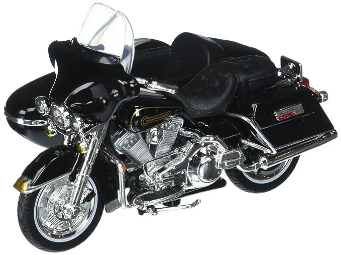 Maisto 1:18 Harley-Davidson Custom 1998 FLHT Electra Glide Standard with  Sidecar