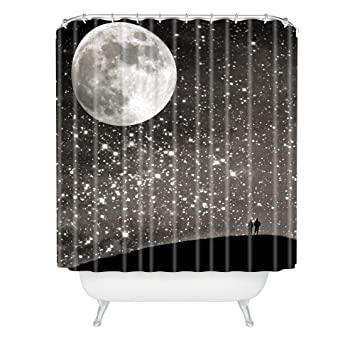 Deny Designs Shannon Clark Love Under The Stars Shower Curtain 69quot
