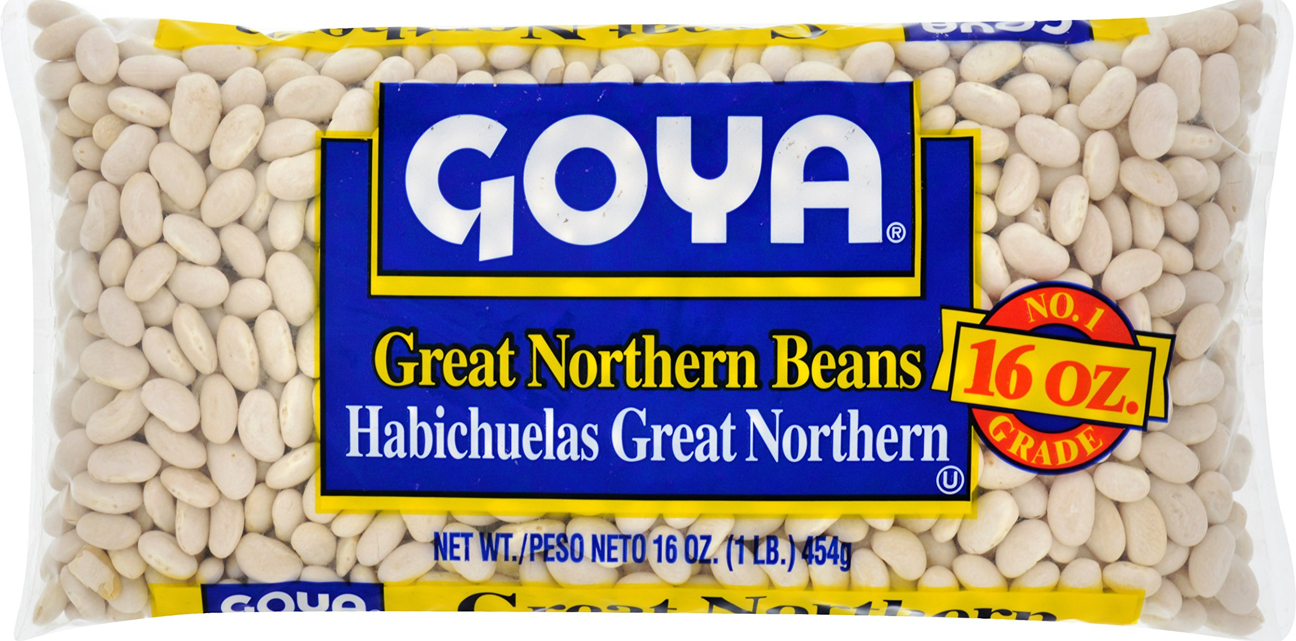 Goya Foods Dry Great Northern Beans, 16-Ounce (Pack of 24)
