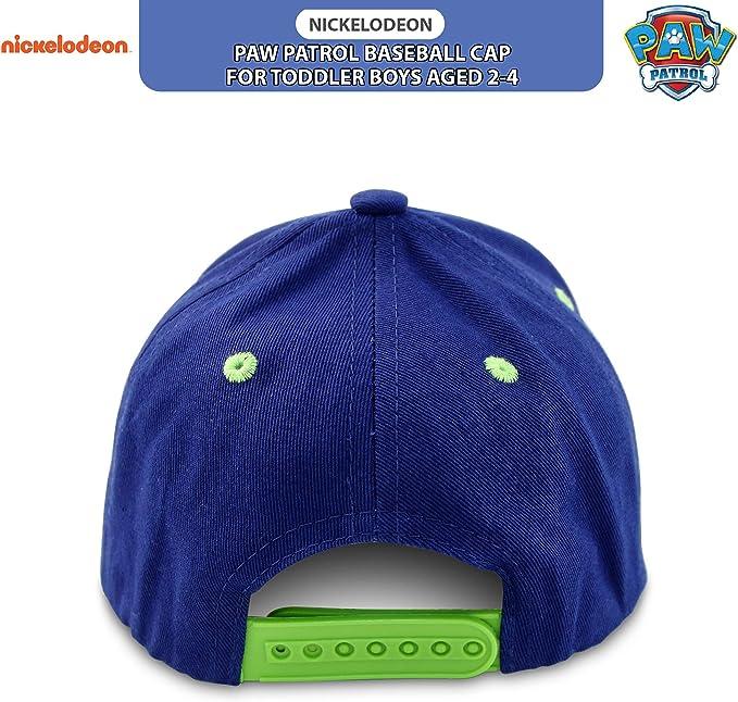 gorra ajustable de verano dise/ño Marshall o Chase de 2 a 8 a/ños Gorra de b/éisbol oficial para ni/ña Nickelodeon Paw Patrol