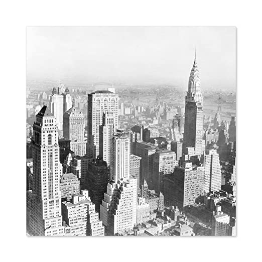 New York City Manhattan View Vintage Photo Large Wall Art ...