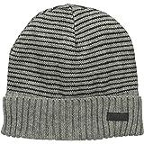 7c13da3e7c673 Amazon.com  Kenneth Cole Mens Flask Gift Set Beanie Hat Black One ...