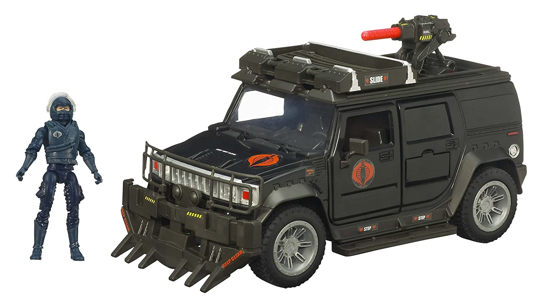 amazon com gi joe movie bravo vehicle steel crusher h2 with nitro