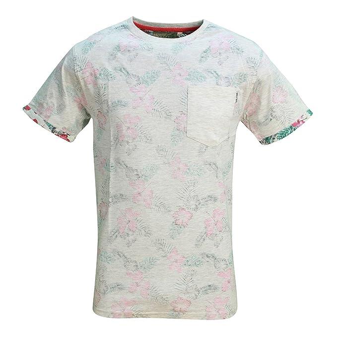 Estampada Camiseta Inside Inside Pink Chest Chest Ow17RqRB