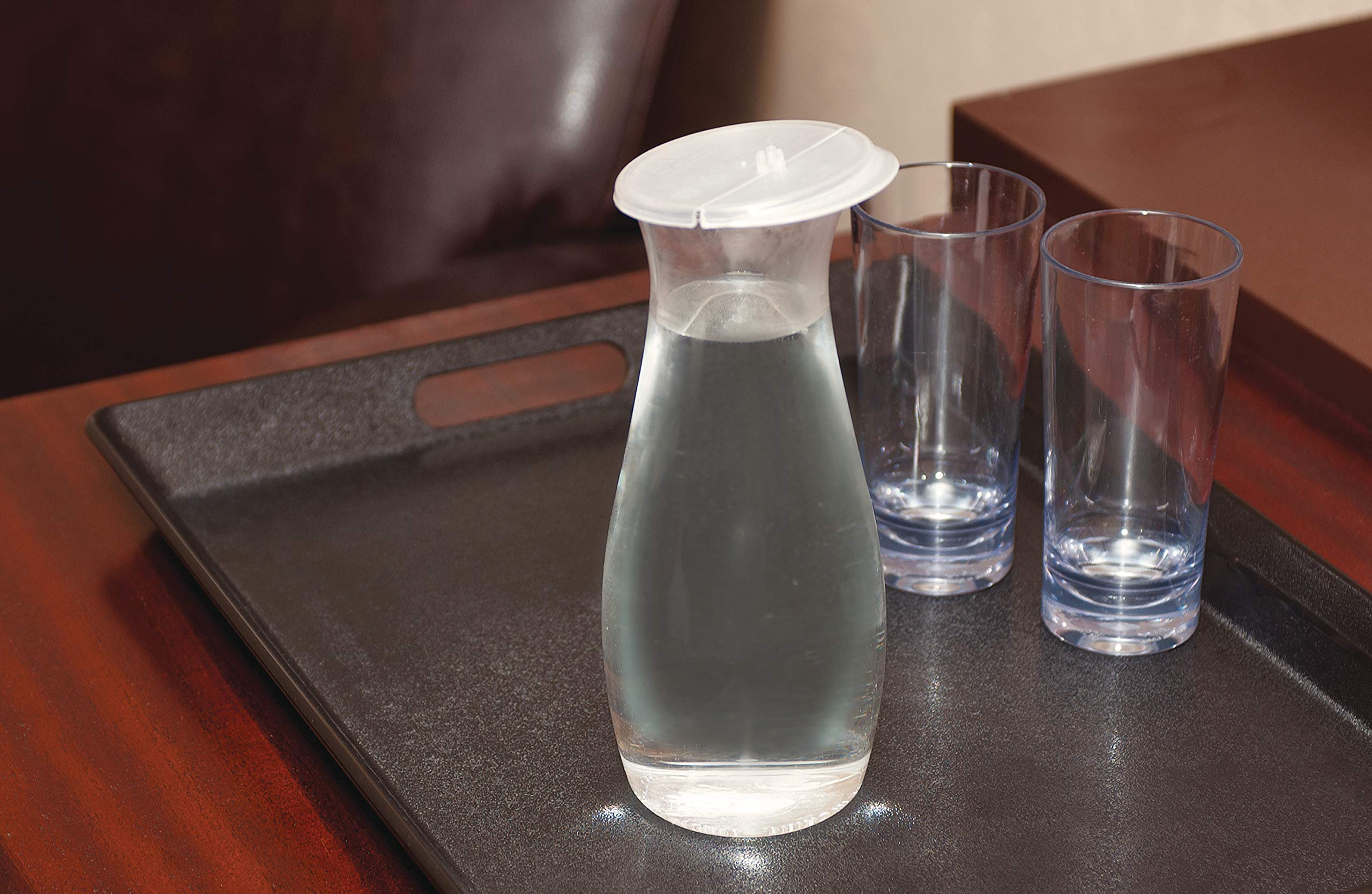 Carlisle 7090207 Cascata Carafe Juice Jar Beverage Decanter Only, Plastic, 1 L, Clear by Carlisle (Image #10)