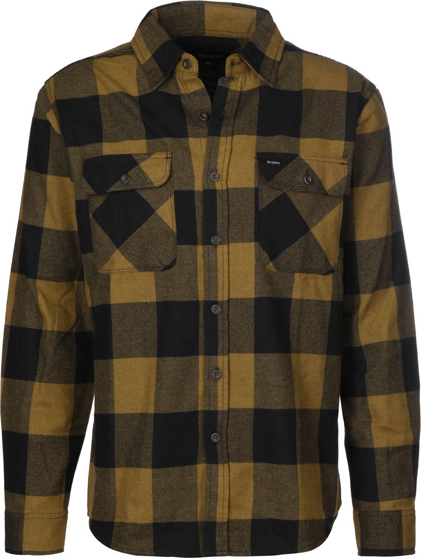BRIXTON Bowery LW L/S Flannel - Camisa Hombre: Amazon.es: Deportes y aire libre