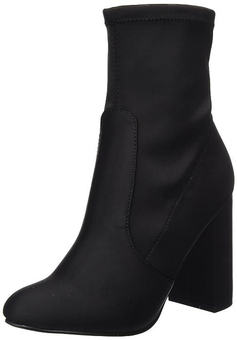 New Look Damen Admire Stiefeletten, Schwarz (Black 1), 39 EU