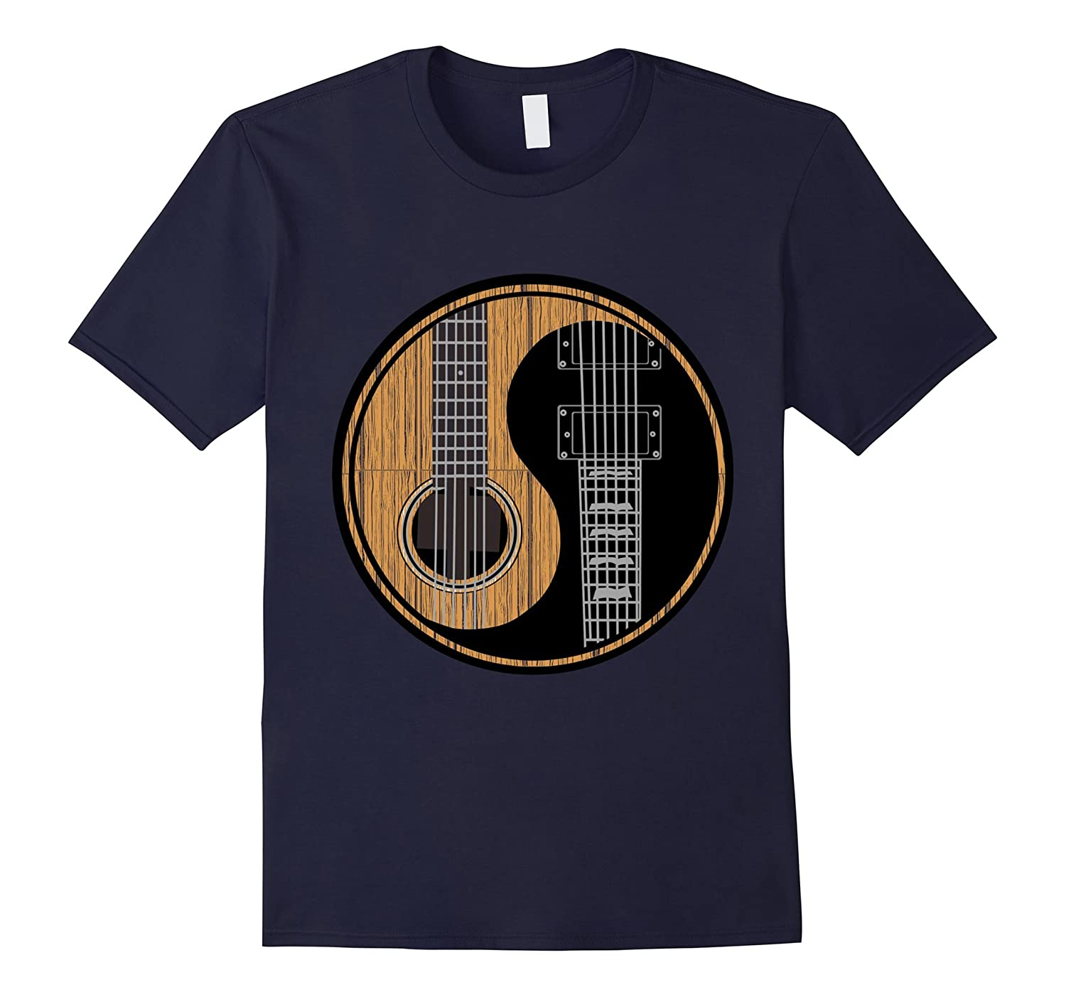 Yin Yang Guitar T-Shirts! Best Gift for Guitarist!-CL