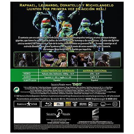 Amazon.com: Tmnt 1, La Película Original (Blu-Ray) (Import ...