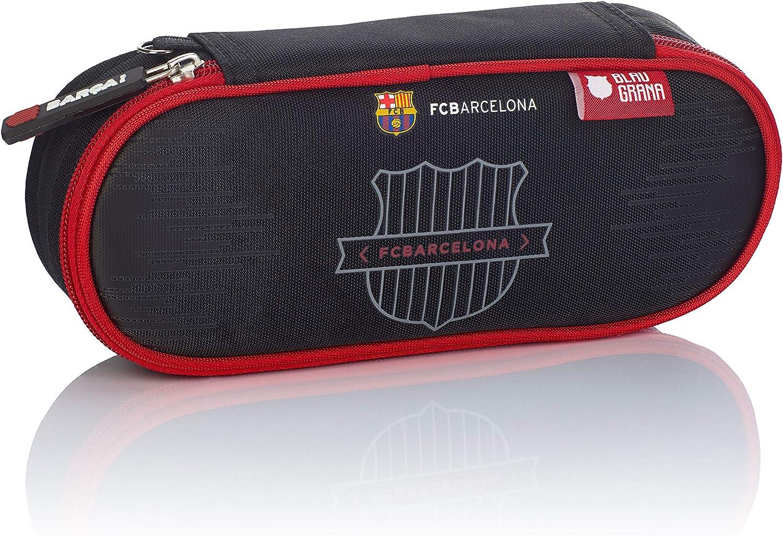 FC Barcelona FC-244 The Best Team 7 - Estuche (22 cm), Color Negro: Amazon.es: Equipaje