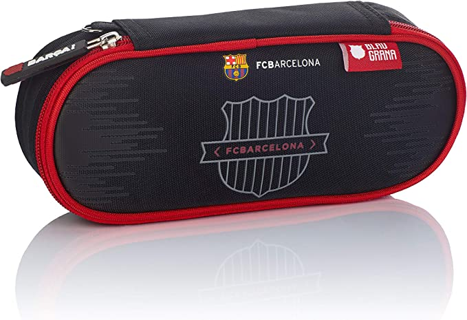 FC Barcelona FC-244 The Best Team 7 - Estuche (22 cm), Color Negro: Amazon.es: Equipaje