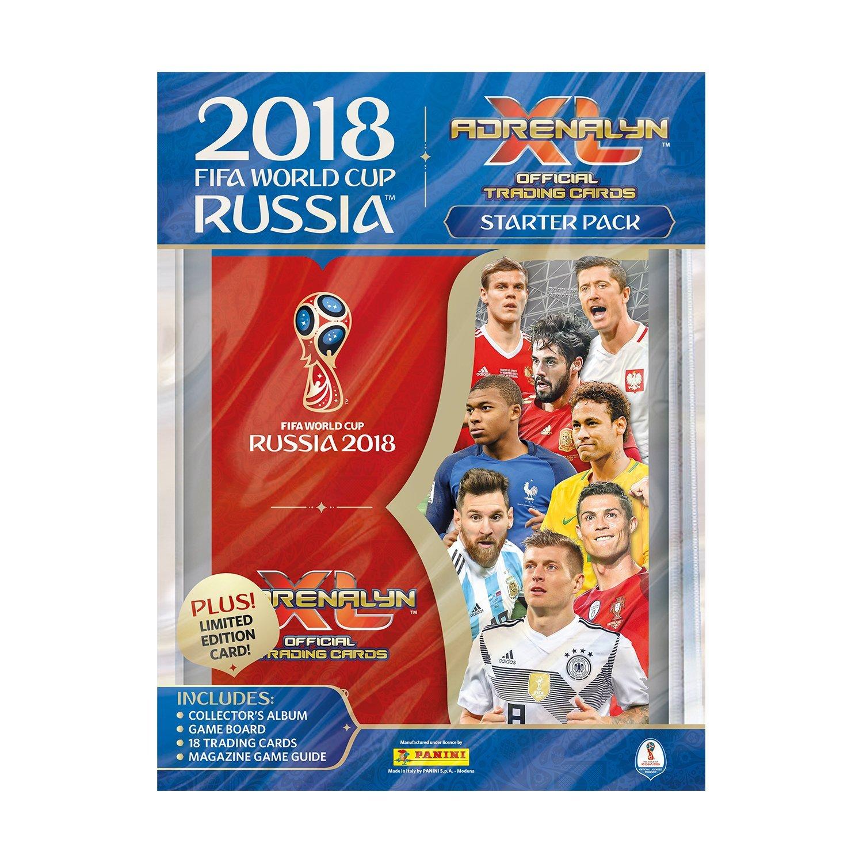 Panini Adrenalyn XL 2018 FIFA World Cup™ - Juego de Cartas coleccionables Oficiales de la Copa del Mundo de la FIFA de 2018 508956