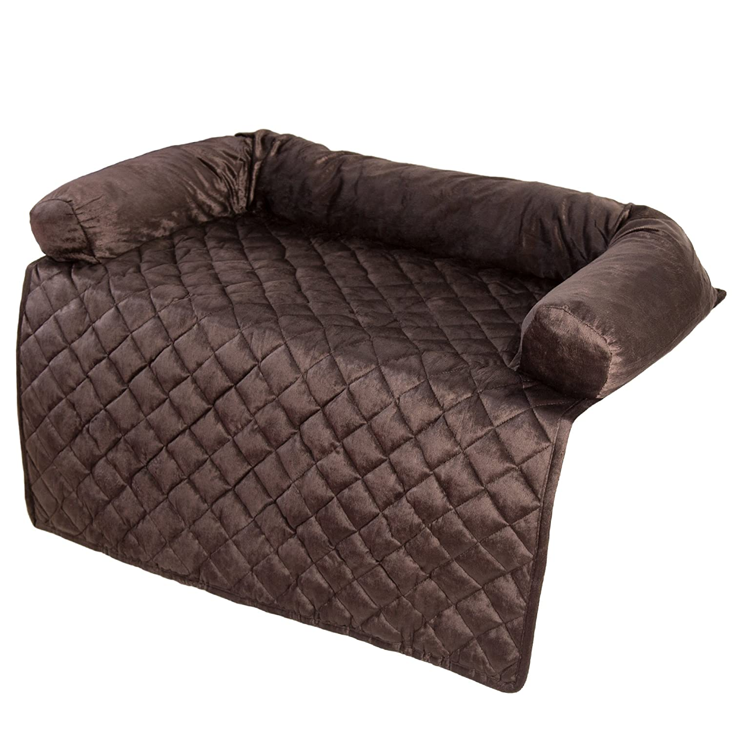 Brown 35\ Brown 35\ PETMAKER Slipcover, 35  x 35 , Brown