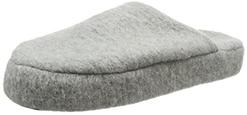 Yosa Natural Wool Mule, Chaussons Homme - Gris - Gris, 39Woolsies