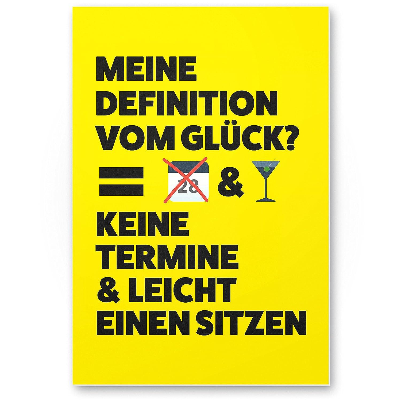 Dankedir Keine Termine Kunststoff Schild Mit Spruch Lustiges