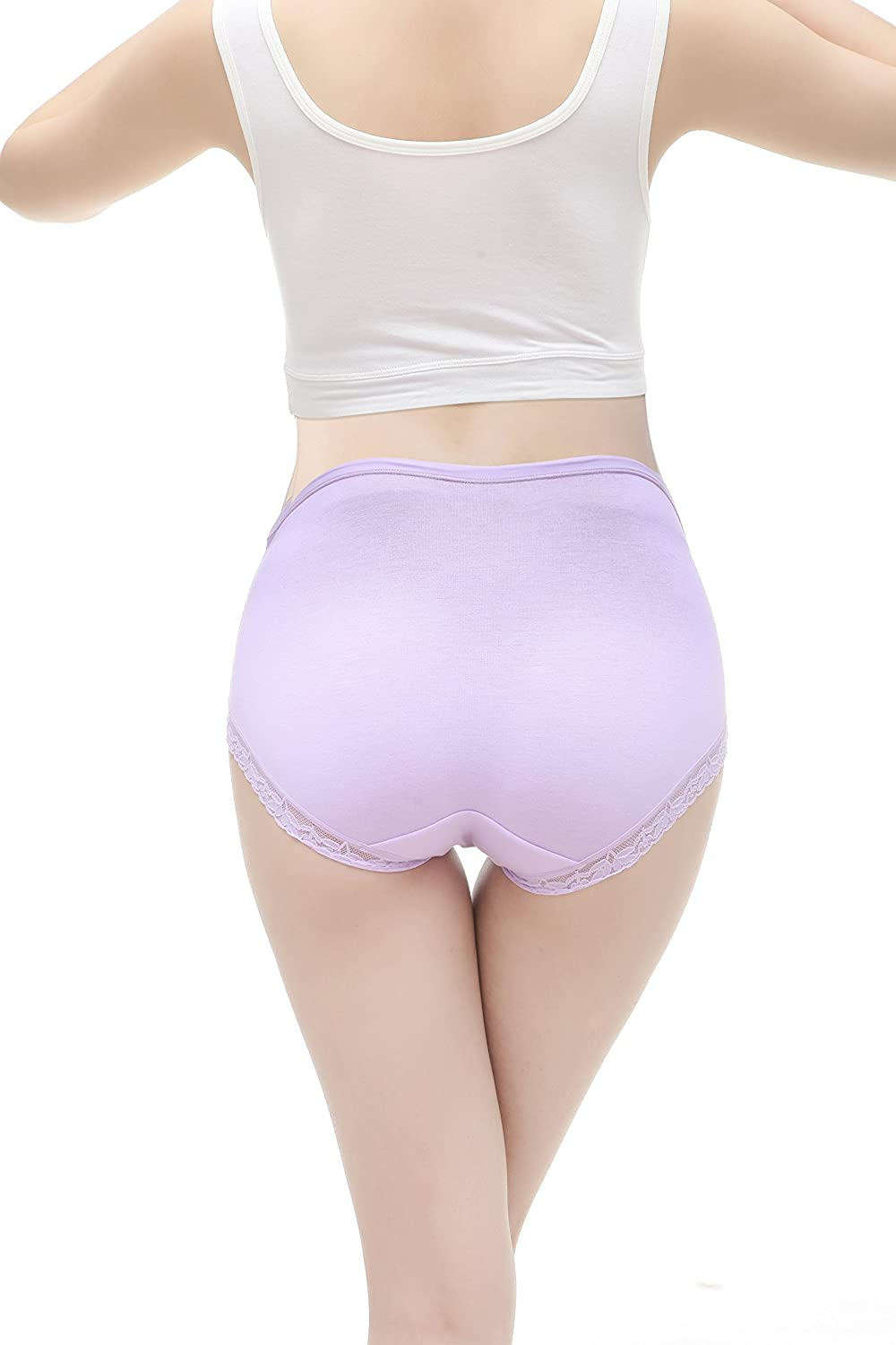 Womens Cotton Briefs Lace Pregnancy Underwear Pants Topwhere Maternity Panties Knickers