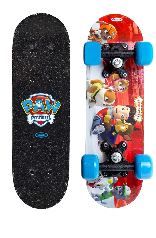 Paw Patrol-Skateboard Monopatin Mini Skate en Madera 17 Pulgadas, Multicolor, (Darpeje OPAW247)