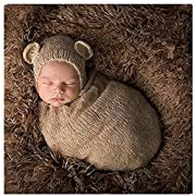 Newborn Baby Photography Props Boy Girl Crochet Costume Outfits Cute Hat Sleeping Bag