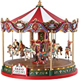 Lemax The Grand Carousel With 4.5V Adaptor