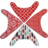 Bandanna Drool Bibs(Baby) for Teething for Boys, Girls, or Unisex 4 Pack Set