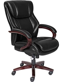 LaZBoy 45783A La Z Boy Bellamy Chair Traditions Executive Office, Black