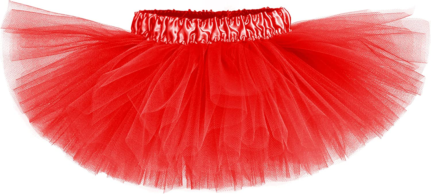 Classic Baby Girls Ruby Red Tutu