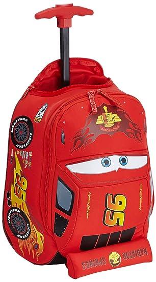 Disney Ultimate Cars Mochila Infantil, 8.5 litros, Color Rojo: Amazon.es: Equipaje