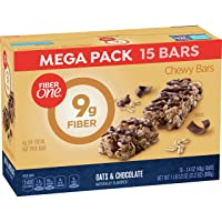 Deals on Fiber One Oats and Chocolate Bar, 15 Count