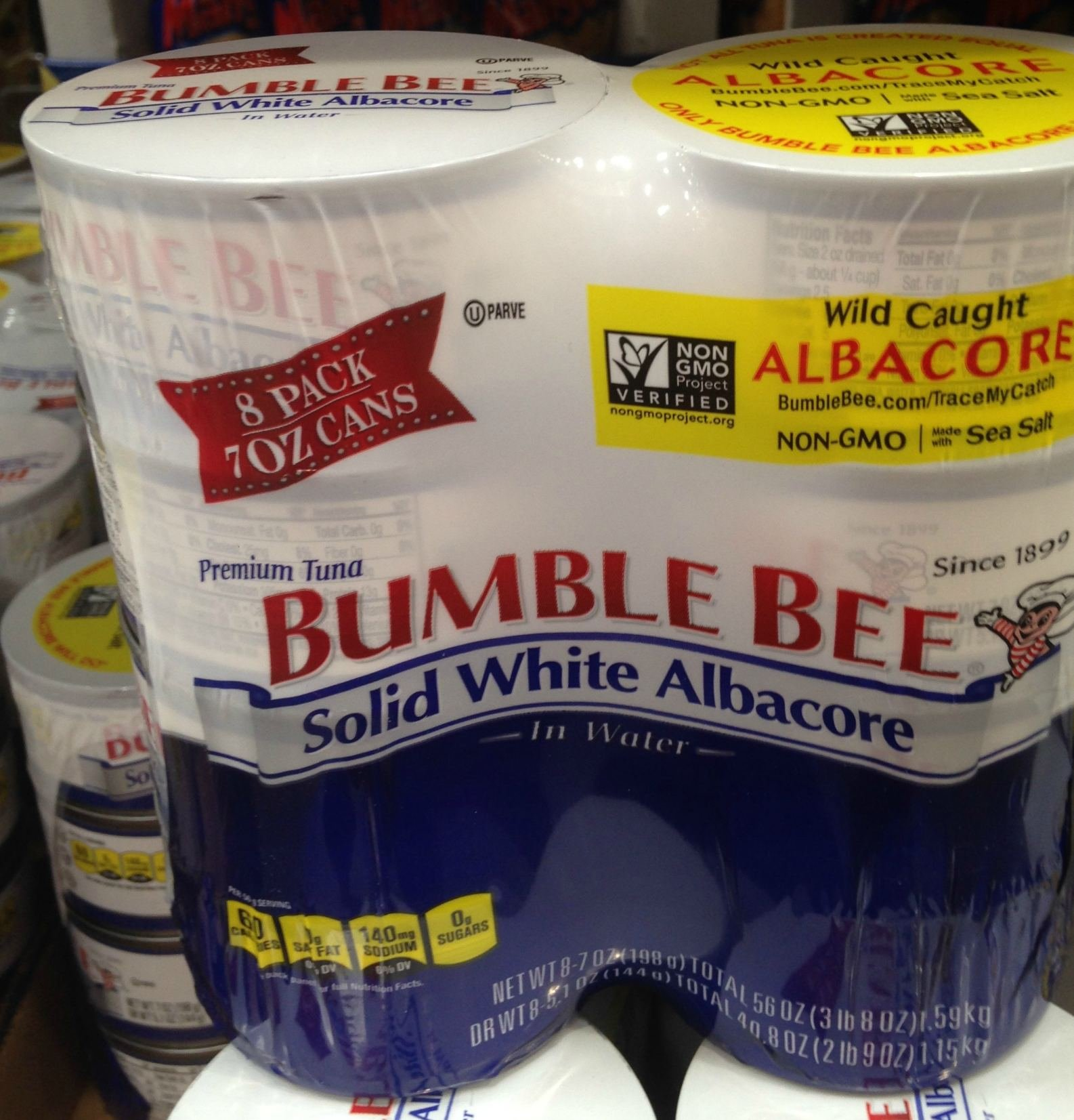 Bumble Bee solid white albacore 8/ 7 oz (pack of 6) by Bumble Bee