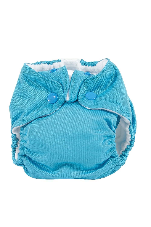 Kissa's Newborn All-in-One Diaper, Lagoon Blue Kissaluvs wd0aio-blue