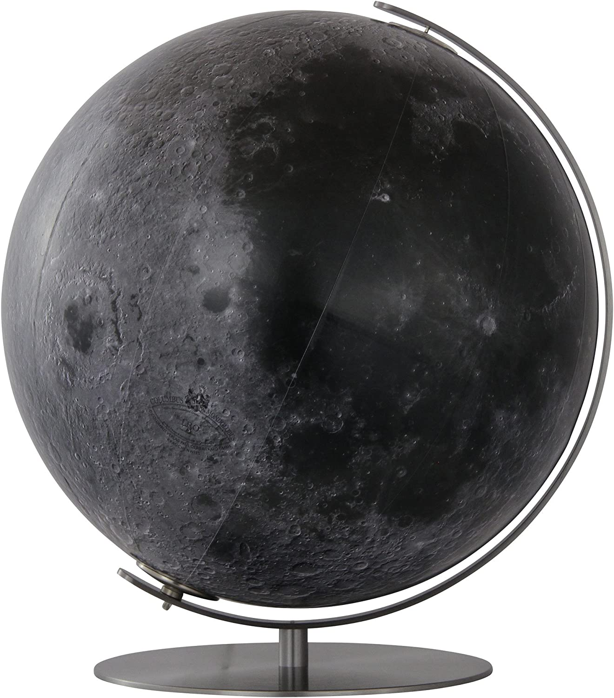 Columbus Verlag874081 Columbus - Bombilla de Globo con pie de Metal (40 cm), diseño de Luna y Estrellas: Amazon.es: Juguetes y juegos