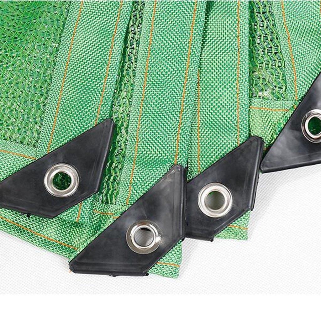 YL Home Verde 6-Pin Shade Net Edge Cifrado Sunscreen Sunscreen Sunscreen Balcón Aislamiento Net Suministros De Jardinería Carnosa Planta Verde Sombra A++ (Tamaño : 3x3m) b47e53