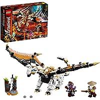 LEGO NINJAGO Wu's gevechtsdraak 71718 bouwset voor ninjagevechten met figuren die je zelf kunt bouwen (321 onderdelen)
