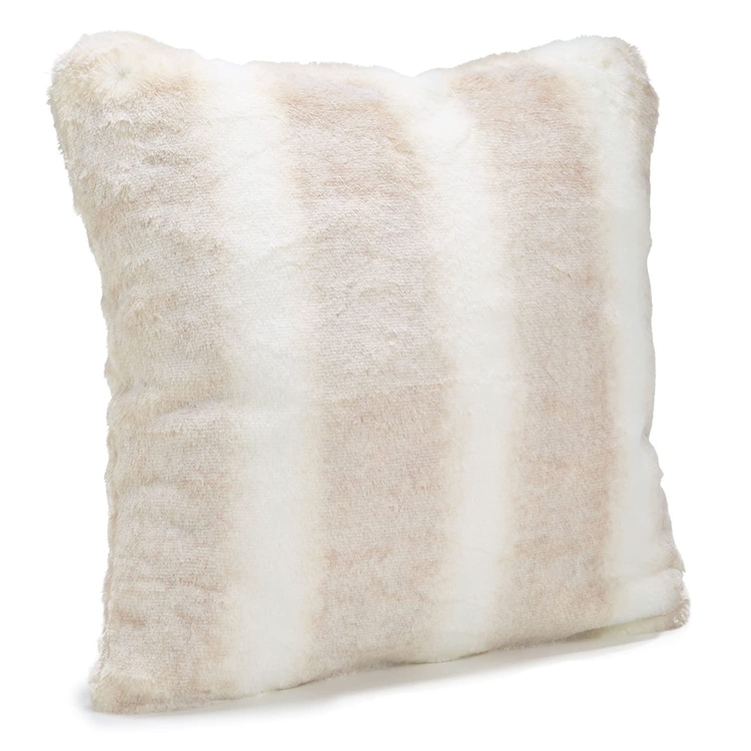 by Donna Salyers Available in standard size 18x18 and Euro size 24x24 Iced Mink Fabulous Furs: Faux Fur Luxury Pillow