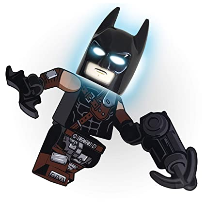 Amazon.com: LEGO The Movie 2 Batman Máscara NiteLite con ...