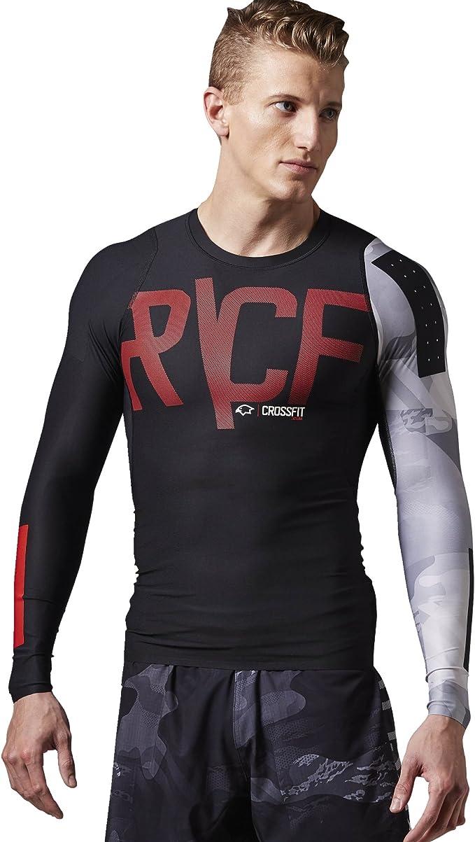 Reebok Herren Langärmeliges T shirt Crossfit PWR6 Long