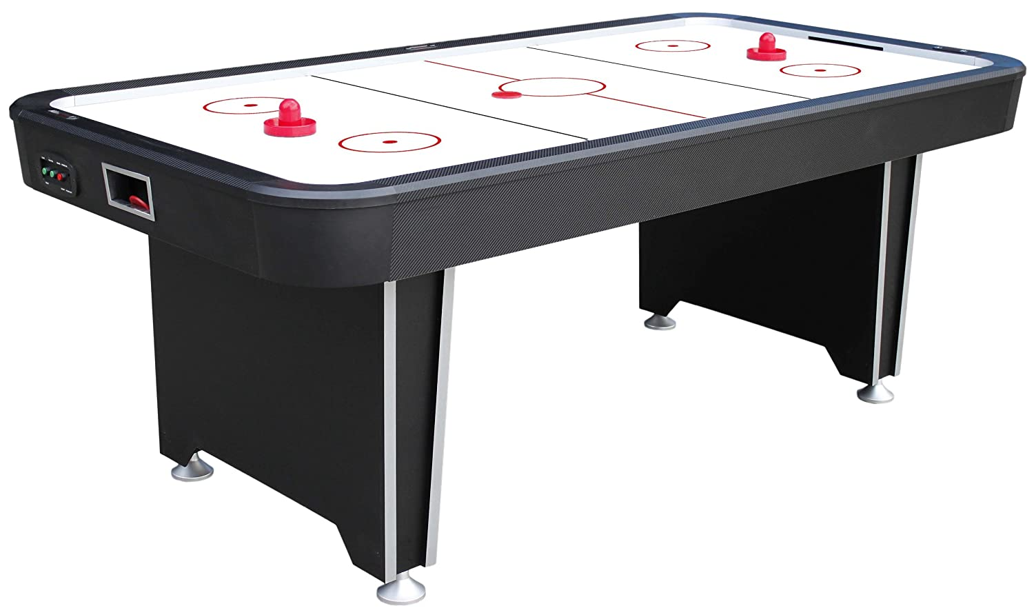 top playcraft view inch table sport air hockey