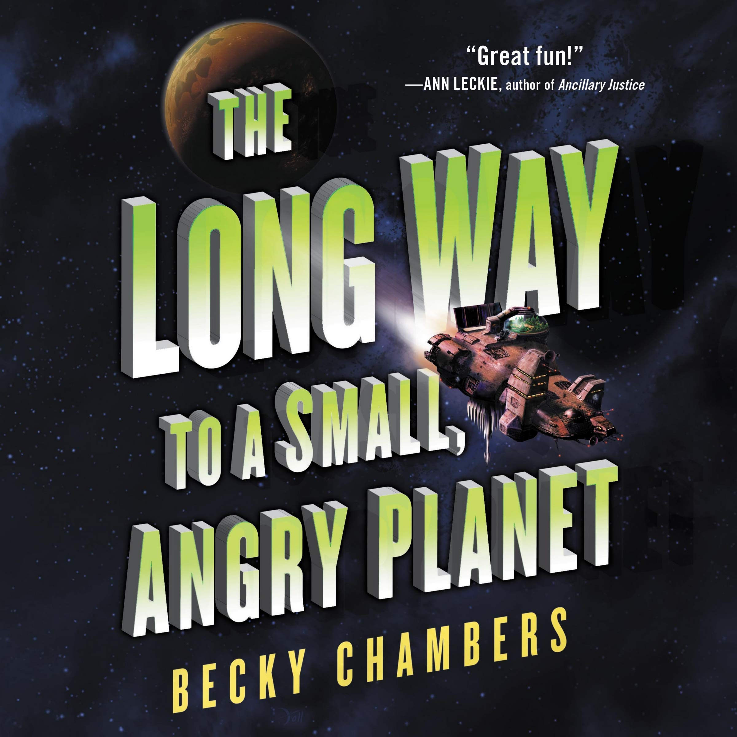 Amazon.com: The Long Way to a Small, Angry Planet: The ...