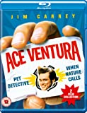 Ace Ventura: Pet Detective/Ace Ventura: When Nature Calls [Blu-ray] [2016] [Region A & B & C]