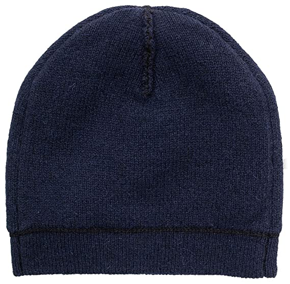 UGG Womens Two Color Beanie in Navy Multi at Amazon Women s Clothing store  f6705bd906e2