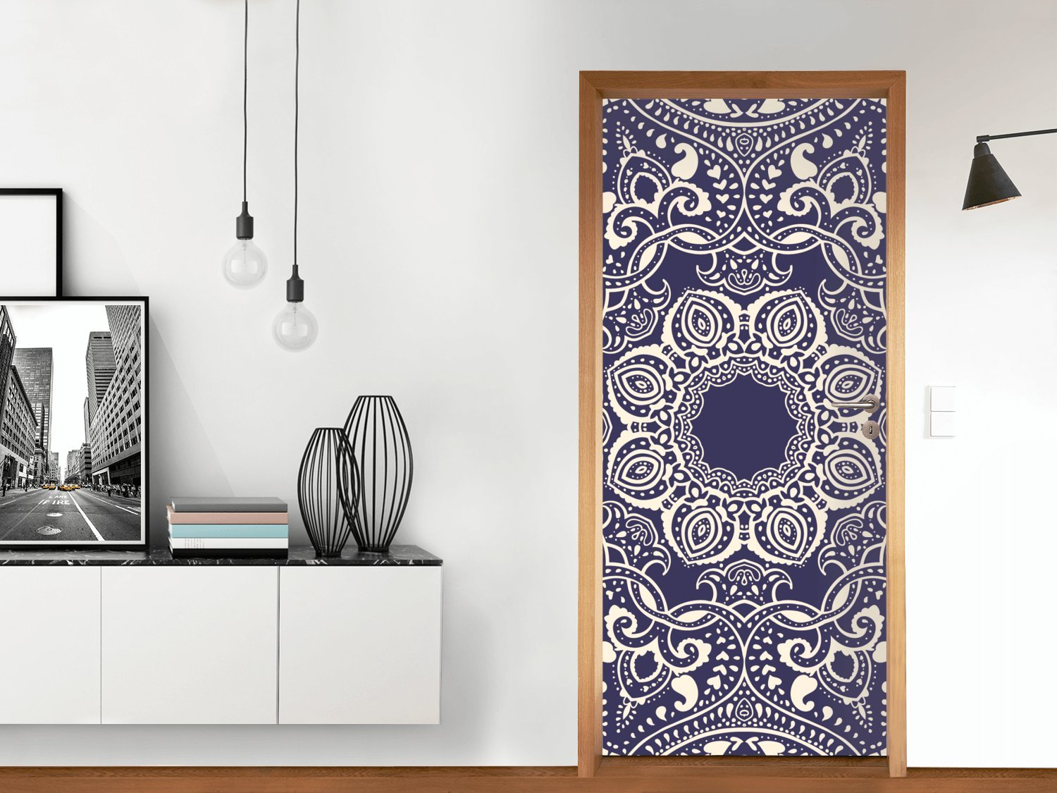 creatisto Kitchen Door 71x197 cm | Wallpaper Design Wrap Film Decoration Home Design | Various Designs creatisto GmbH