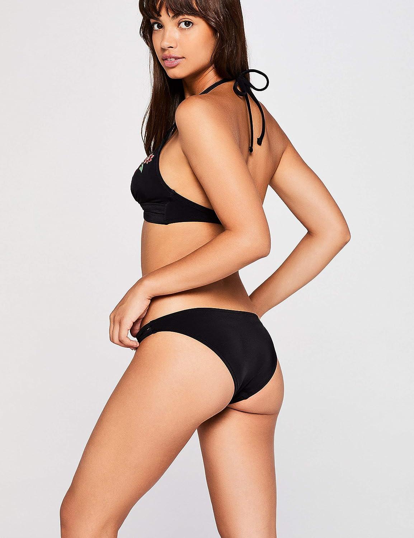 Marchio Iris /& Lilly Slip Bikini a Vita Bassa Donna