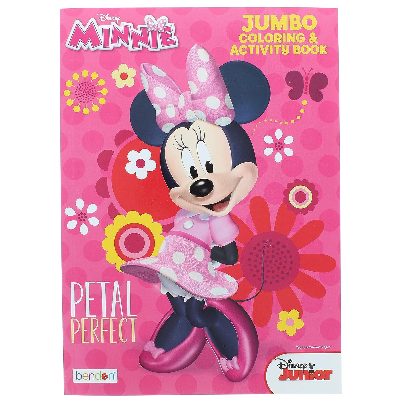 Disney Minnie Petal Perfect Jumbo Coloring /& Activity Book 64 Pages Bendon 2 Pk