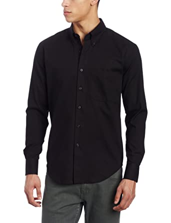 Amazon.com: Naked & Famous Denim Men's Slim-Fit Shirt: Clothing