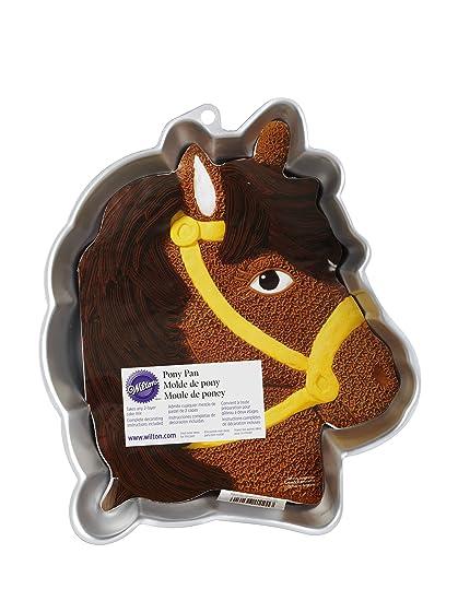 Amazoncom Wilton Horse Cake Pan Kids 3D Birthday Cake Pan
