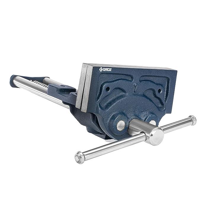 Renewed Shop Fox D4327 7-Inch Quick Release Wood Vise