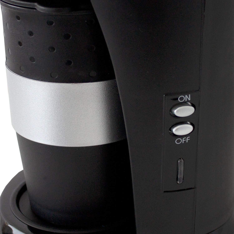 Cafetera eléctrica para monodosis de café con Vaso para conectar al Encendedor de Cigarrillos de 24 V/300 W - Cafetera de Viaje para Camiones y autocaravanas.: Amazon.es: Hogar