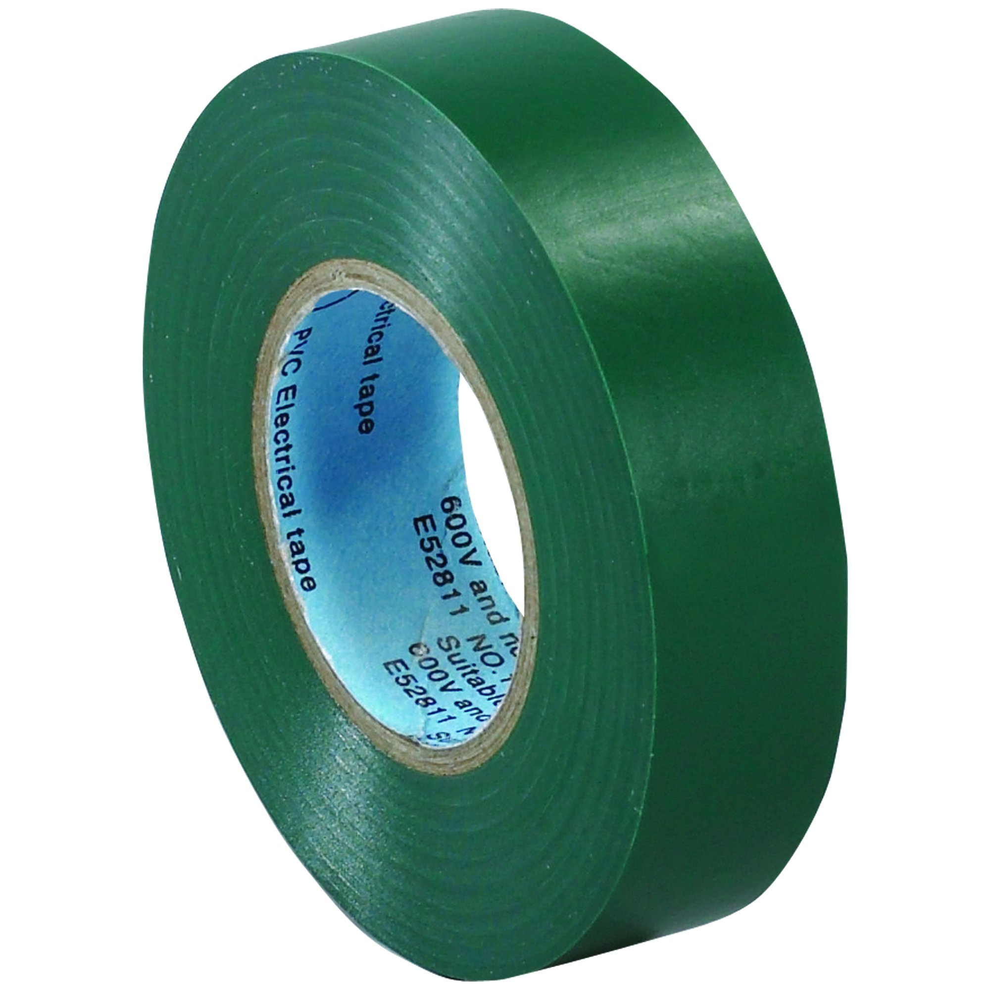 BOX BT96461810PKG Green Electrical Tape, 20 yd. Length, 3/4'' (Pack of 10) by Box