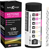 150 Ketone Test Strips with Free Keto Guide eBook & Free APP. Urine Test for Ketosis on Ketogenic & Low-Carb Diets. (Extra-Lo