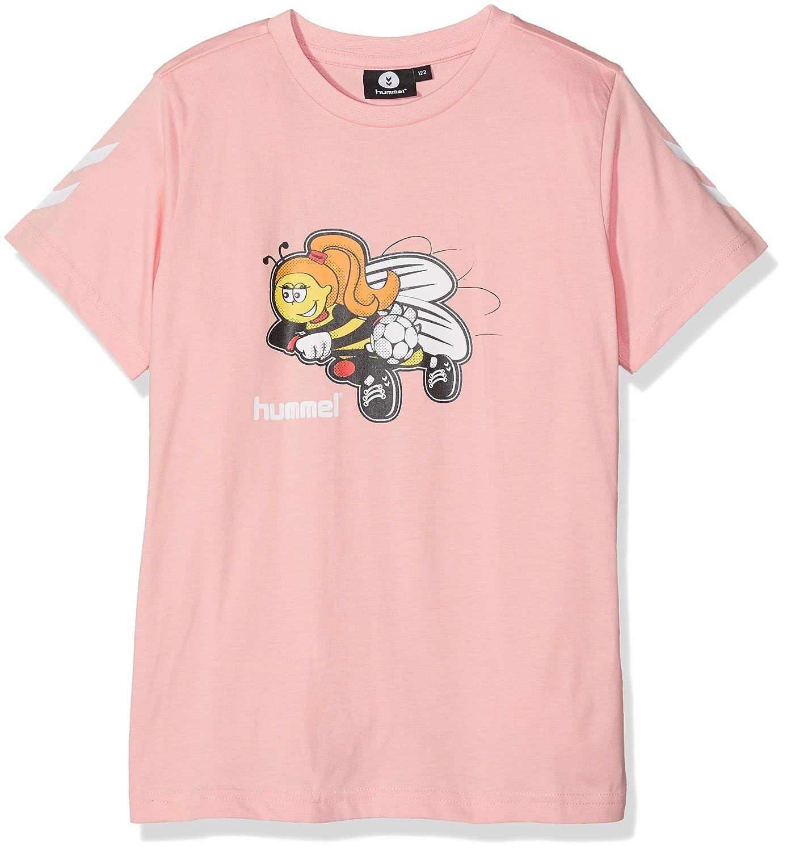 Hummel Mädchen Hmlkevyneb S/S T-Shirt Hummel (HUMBC)
